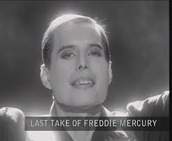 Resultado de imagem para Freddie mercury ultimos dias