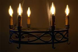 chandelierschandelier led bulb chandeliers l light filament gold tint candelabra with 4 watt bulbs