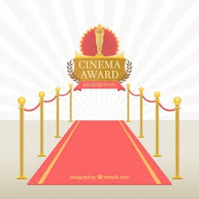 carpet roll vector. red carpet of cinema event roll vector f