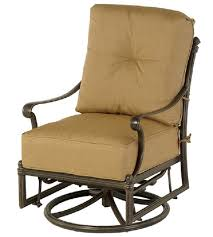 patio glider chair st augustine hanamint luxury cast aluminum patio furniture outdoor