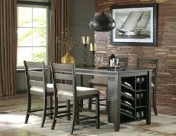 light brown dining room table signature design by rectangular counter 4 2 1