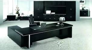 Luxury Office Desk Black Office Desk Of Executive Office Desk Modern