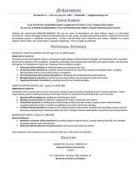 Resume Professional Summary Extraordinary Resume Professional Summary Examples Swarnimabharathorg