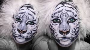 awesome tiger face paint
