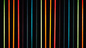 Wallpaper Colorful neon lights, lines ...