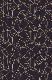 Pattern Tumblr Enchanting Pattern Geometric Black Gold Tumblr On We Heart It