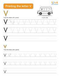 words that start with v for kids