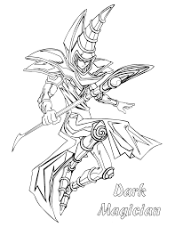 Yugioh Coloring Pages To Download And Print For Free