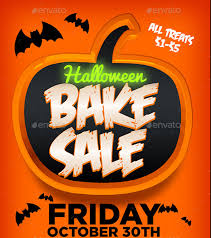 halloween sale flyer bake sale flyer template 31 free psd indesign ai format