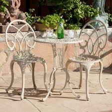 white wrought iron garden furniture. Endearing Wrought Iron Chaise Lounge Patio Furniture For Your Cast Vintage In Clever White Garden