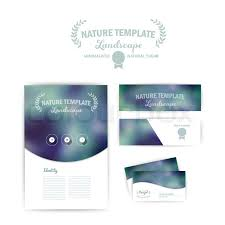 identity website template vector corporate identity abstract