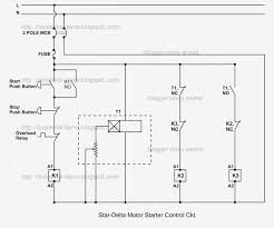 tutorials articles star delta starter theory star delta control circuit of 3 phase induction motor