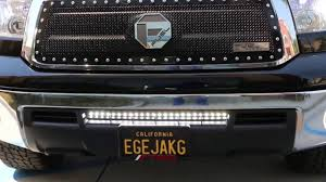 2008 Tundra Grill With Light Bar Ijdmtoy Led Light Bar For 2007 2013 Toyota Tundra