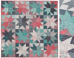 Fantastically fast patterns for precut fabrics (+ fabric giveaway ... & Magnetized-Layer-Cake-quilt-pattern Adamdwight.com