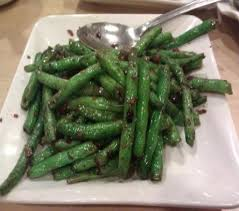 dry green beans at happy veggie garden in rowland heights