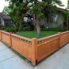 front yard fence. Craftsman Style Fence Front Yard