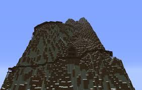 Resultado de imagem para montanha minecraft