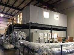 warehouse mezzanine modular office. modular mezzanine offices warehouse office