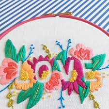 Love Hand Embroidery Designs Hand Embroidery Patterns Archives Hello Hooray