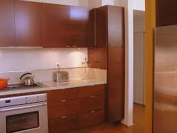 Cherry Cabinetry Kitchen Midcentury Kitchen