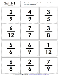 Fractions From Least To Greatest Chart Ordering Fractions Learning Center