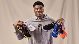 16,634 results for giannis antetokounmpo. The Story Behind Giannis Antetokounmpo S First Nike Signature Sneaker
