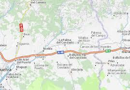 Um von einer städtischen buslinie zur buslinie a1 oder a2 in richtung flughafen zu gelangen, drücken sie bitte die taste 3 (flughafenzone) auf der städtischen buslinie (erster bus). Michelin Landkarte La Palma Del Condado Stadtplan La Palma Del Condado Viamichelin