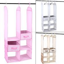 24pcs kids children nursery closet organizer set baby clothes hanging wardrobe storage