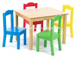 childrens table and chairs wooden kindergarten solid wood kids study playing table chair wooden table and