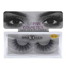 Eldridge <b>1Pair False Eyelashes</b> Hand Made 3D mink eyelashes ...