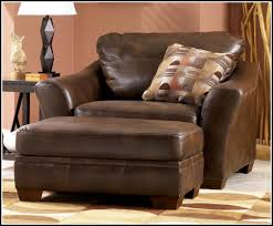 Living Room Oversized Chairs Leather Oversized Chair And Ottoman Chair Home Furniture Ideas