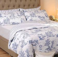 stunning design blue toile bedding sets yellow waverly and comforter inside toile bedding