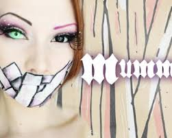all wrapped up original mummy makeup tutorial