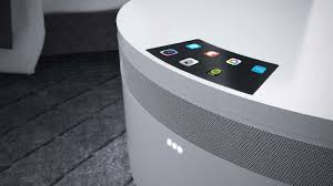 The sleek design of the glass with the decks makes it perfect for a living room. This Futuristic Nightstand S Entire Surface Is A Wireless Charging Pad And It S A Cooler Too Shouts