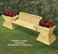 garden bench plans. Plain Bench Landscape Timber Garden Bench Plan For Plans N