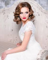 Bridesmaid Hairstyles 89 Inspiration 24 Wedding Hairstyles For Short To MidLength Hair Herinterest