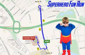 superhero fun run early may bank holiday in milton keynes with a Superhero Map superhero fun run, milton keynes map 2015 super hero map minecraft