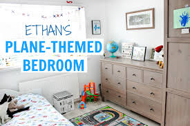 Great 3 YEAR OLDu0027S PLANE THEMED BEDROOM   ETHANu0027S ROOM TOUR | Alex Gladwin