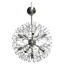 sciolari chrome sputnik chandelier
