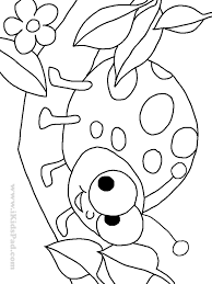 Small Picture Lady Bug Coloring Sheet 6766