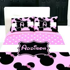 monogrammed bedding sets mouse twin bed in a bag items similar to custom personalized bedding set