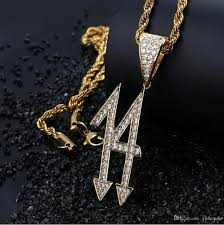 whole hip hop aaa cz bling lucky number pendant necklace micro pave cubic zircon personalized 18k gold plated custom made pendant fashion jewelry