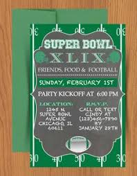 29 Best Super Bowl Invitations Templates And More Images Super