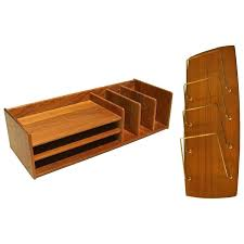 modern desk accessories danish modern teak desk organizer by deskology modern desk accessories modern desk