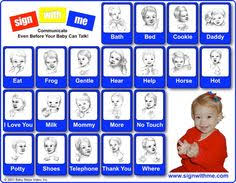 Tucker Signing Chart 43 Best Sign Language Images Sign Language Language Baby