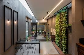 Office interior design concepts Boss The Spatial Programme Started With Sections And Designating Levels To Different Uses Which Were Eventually Dovetailed Into Plan The Architects Diary The Architects Own Office Portico Design Concepts The