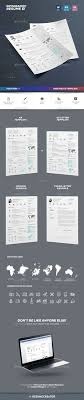 Infographic Resume Template Interesting 48 Best Resume Design Images On Pinterest Resume Cv Resume
