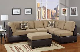appealing leather and suede sectional sofa within best 25 of leather and suede sectional sofa