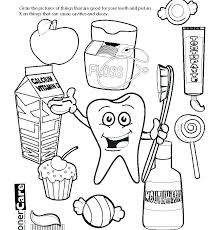tooth coloring pages teeth happy sad dental in of for sheets preschool