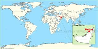 dubai maps  uae  maps of dubai